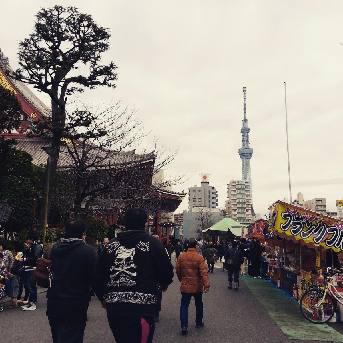 Bustling Tokyo, Here We Go!