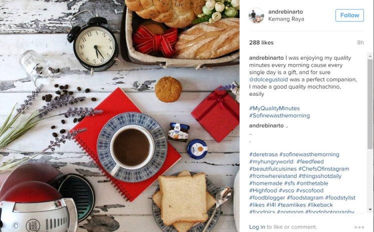 Andre Binarto Instagram