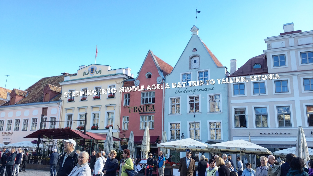 Stepping into Middle Age: A Day Trip to Tallinn, Estonia