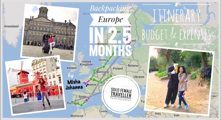 euro trip collage with title