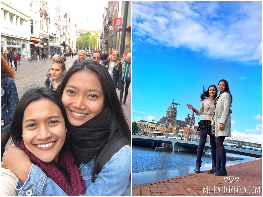 Misha & Andrea in Amsterdam NL