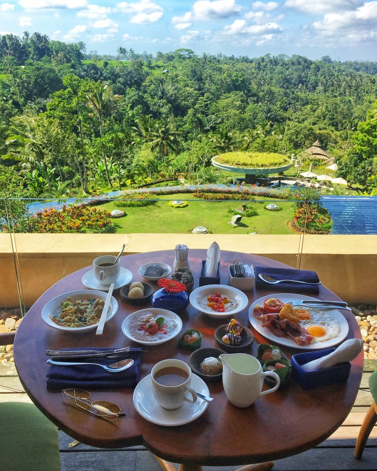 Breakfast at Padma Resort Ubud