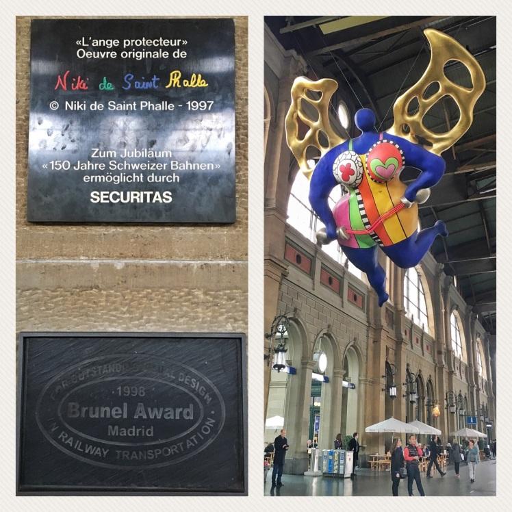 L'ange Protecteur by Niki de Saint Phalle
