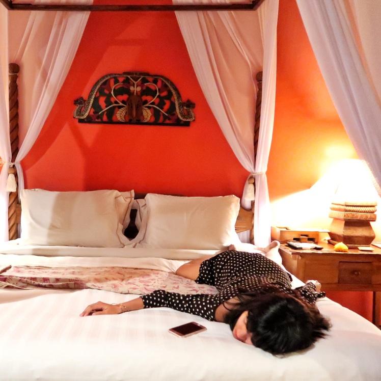 Hotel Tugu Bali bed