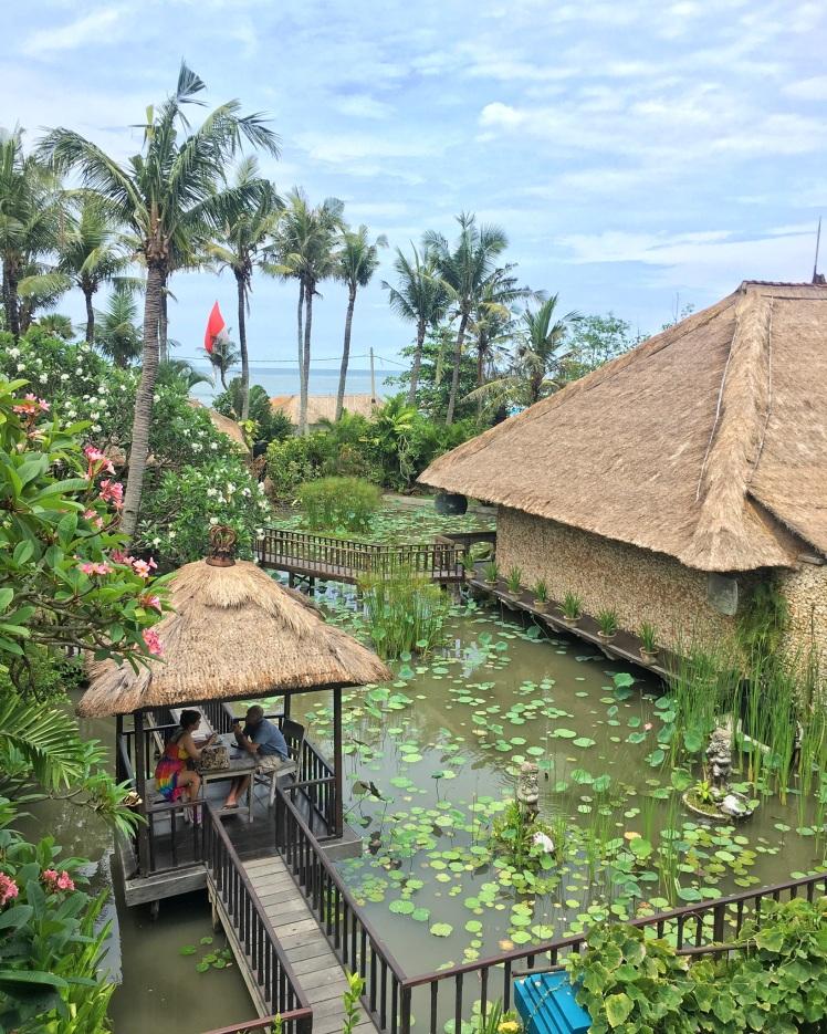 Hotel Tugu Bali Canggu beach view