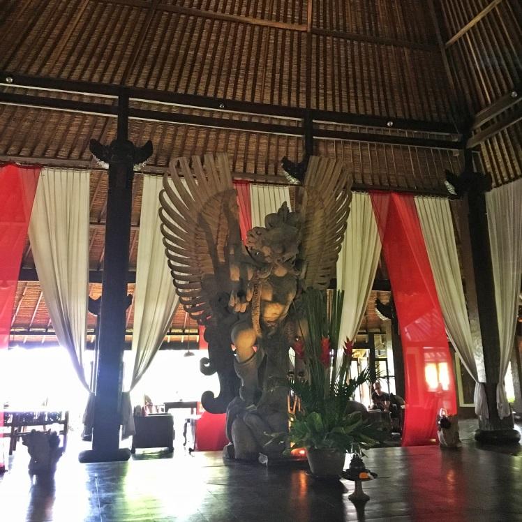 The Garuda at Bale Agung Hotel Tugu Bali