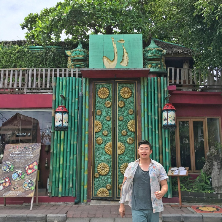 Ji Restaurant Bali Canggu the Gate of Hell