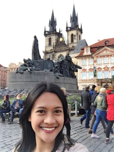 My best Prague selfie :p