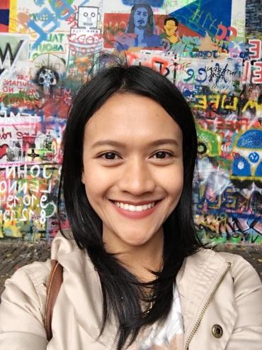Lennon Wall Selfie
