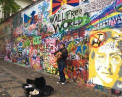Busker by Lennon Wall