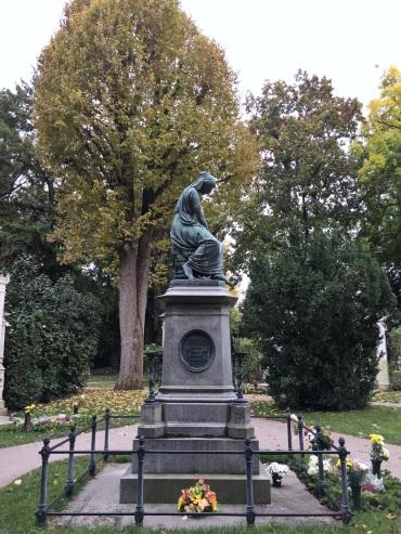 Mozart's tomb