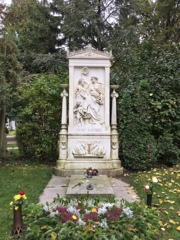Schubert's tomb