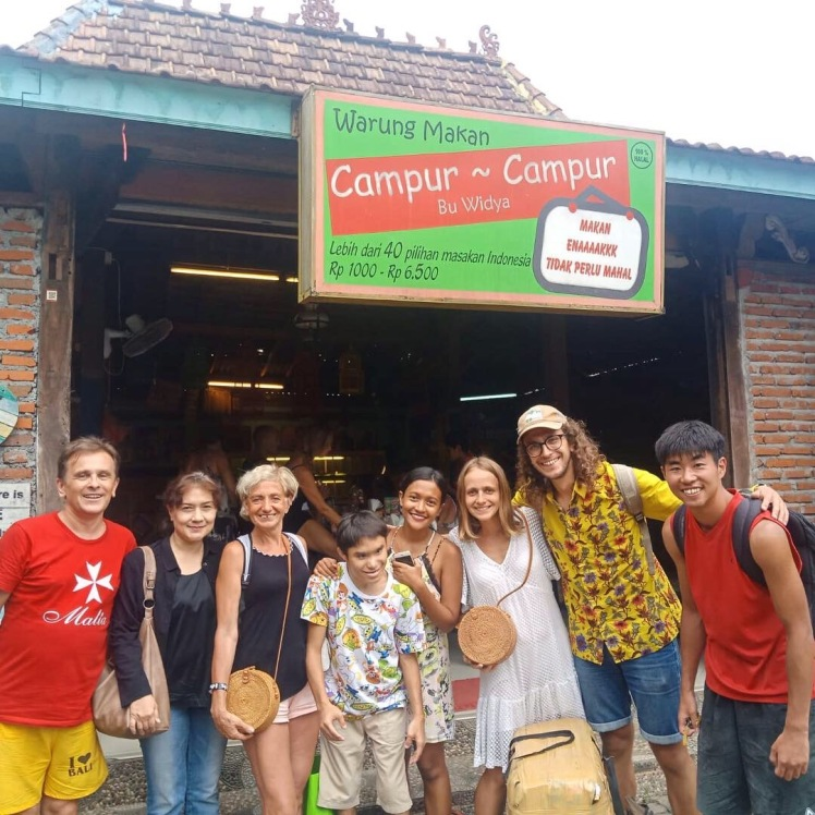 Our Family in Bali